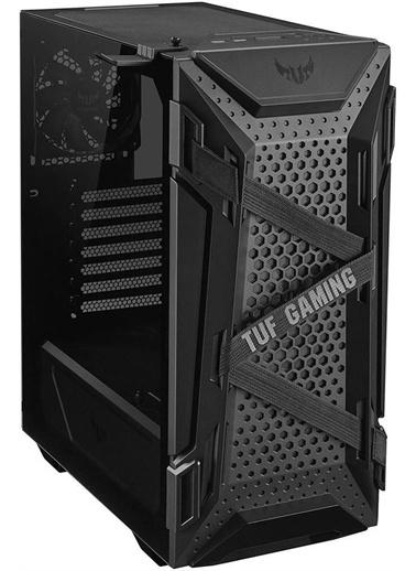 Asus Tuf Gaming Gt301 Siyah Çelik Plastik Temperli Cam Atx Mid Tower Siyah
